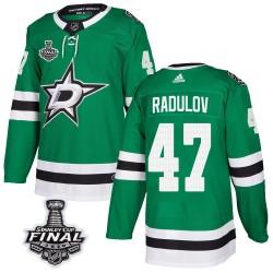 Alexander Radulov Dallas Stars Men's Adidas Authentic Green Home 2020 Stanley Cup Final Bound Jersey