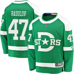 Alexander Radulov Dallas Stars Men's Fanatics Branded Green 2020 Winter Classic Breakaway Jersey