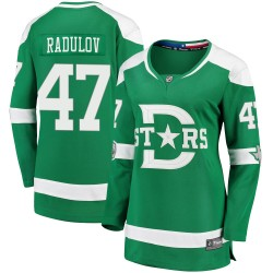Alexander Radulov Dallas Stars Women's Fanatics Branded Green 2020 Winter Classic Breakaway Jersey