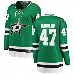 Alexander Radulov Dallas Stars Women's Fanatics Branded Green Breakaway Home Jersey