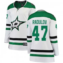 Alexander Radulov Dallas Stars Women's Fanatics Branded White Breakaway Away Jersey