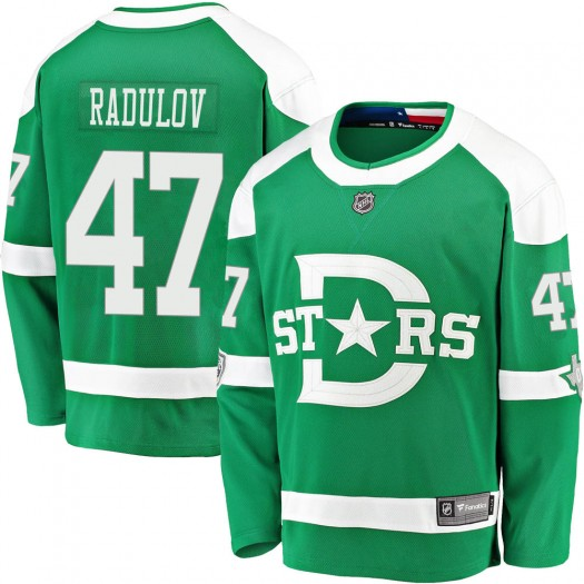 Alexander Radulov Dallas Stars Youth Fanatics Branded Green 2020 Winter Classic Breakaway Jersey