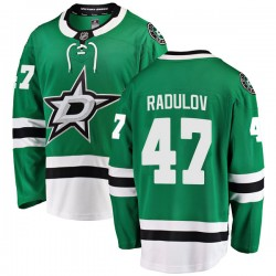 Alexander Radulov Dallas Stars Youth Fanatics Branded Green Breakaway Home Jersey
