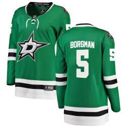 Andreas Borgman Dallas Stars Women's Fanatics Branded Green Breakaway Home Jersey