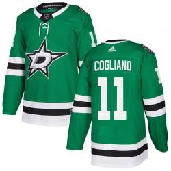 Andrew Cogliano Dallas Stars Youth Adidas Authentic Green Home Jersey