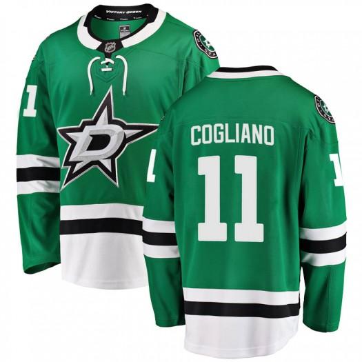 Andrew Cogliano Dallas Stars Youth Fanatics Branded Green Breakaway Home Jersey