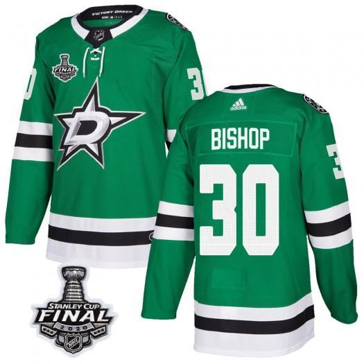 Ben Bishop Dallas Stars Men's Adidas Authentic Green Home 2020 Stanley Cup Final Bound Jersey