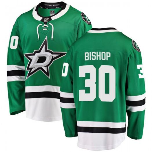 Ben Bishop Dallas Stars Men's Fanatics Branded Green Breakaway Home Jersey