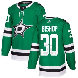 Ben Bishop Dallas Stars Youth Adidas Authentic Green Home Jersey