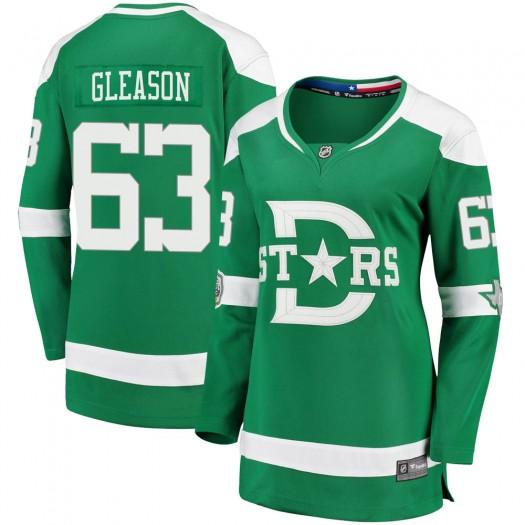 Ben Gleason Dallas Stars Women's Fanatics Branded Green 2020 Winter Classic Breakaway Player Jersey