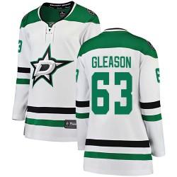 Ben Gleason Dallas Stars Women's Fanatics Branded White Breakaway Away Jersey