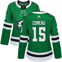 Blake Comeau Dallas Stars Women's Adidas Authentic Green Home Jersey