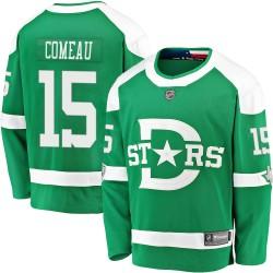 Blake Comeau Dallas Stars Youth Fanatics Branded Green 2020 Winter Classic Breakaway Jersey
