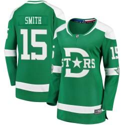 Bobby Smith Dallas Stars Women's Fanatics Branded Green 2020 Winter Classic Breakaway Jersey