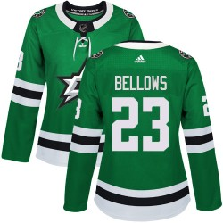 Brian Bellows Dallas Stars Women's Adidas Authentic Green Home Jersey