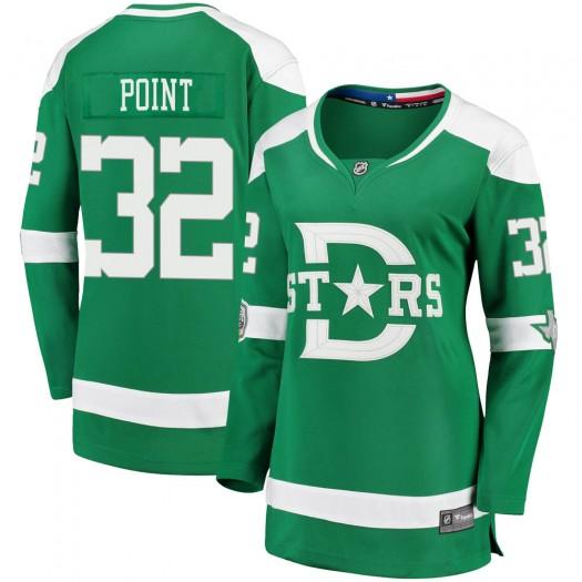 Colton Point Dallas Stars Women's Fanatics Branded Green 2020 Winter Classic Breakaway Player Jersey