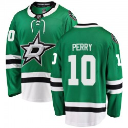 Corey Perry Dallas Stars Men's Fanatics Branded Green Breakaway Home Jersey