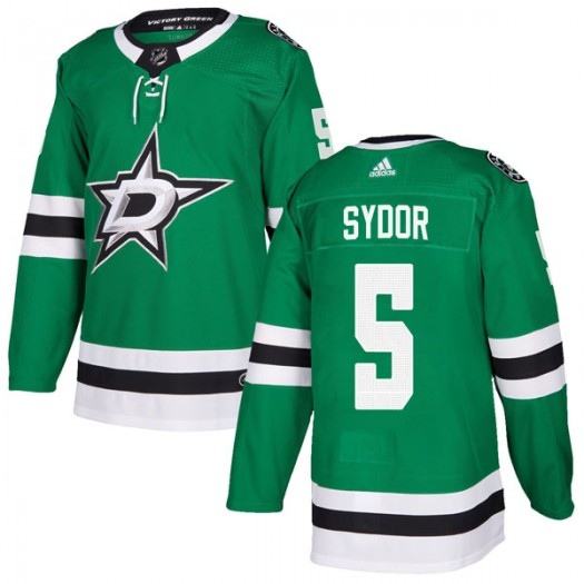 Darryl Sydor Dallas Stars Men's Adidas Authentic Green Home Jersey