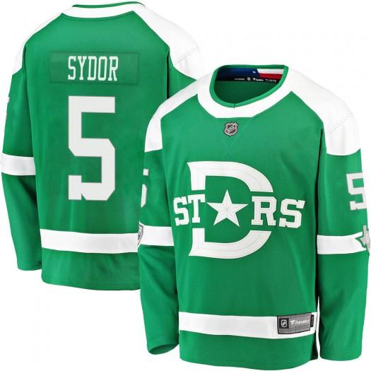 Darryl Sydor Dallas Stars Men's Fanatics Branded Green 2020 Winter Classic Breakaway Jersey