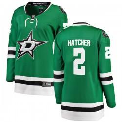 Derian Hatcher Dallas Stars Women's Fanatics Branded Green Breakaway Home Jersey