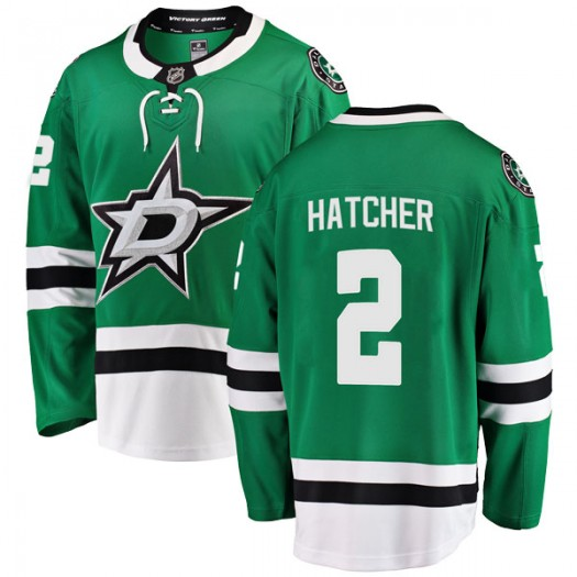 Derian Hatcher Dallas Stars Youth Fanatics Branded Green Breakaway Home Jersey