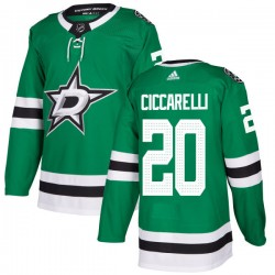 Dino Ciccarelli Dallas Stars Men's Adidas Authentic Green Kelly Jersey