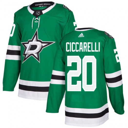 Dino Ciccarelli Dallas Stars Youth Adidas Authentic Green Home Jersey
