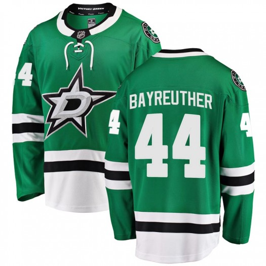 Gavin Bayreuther Dallas Stars Men's Fanatics Branded Green Breakaway Home Jersey