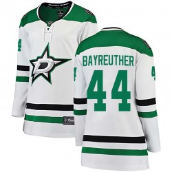 Gavin Bayreuther Dallas Stars Women's Fanatics Branded White Breakaway Away Jersey