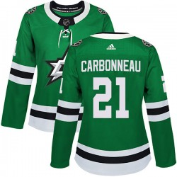 Guy Carbonneau Dallas Stars Women's Adidas Authentic Green Home Jersey