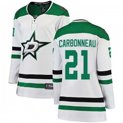 Guy Carbonneau Dallas Stars Women's Fanatics Branded White Breakaway Away Jersey