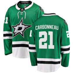 Guy Carbonneau Dallas Stars Youth Fanatics Branded Green Breakaway Home Jersey