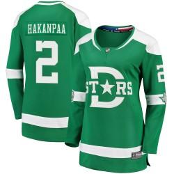 Jani Hakanpaa Dallas Stars Women's Fanatics Branded Green 2020 Winter Classic Breakaway Player Jersey