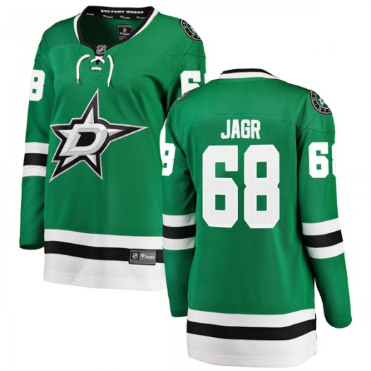 Jaromir Jagr Dallas Stars Women's Fanatics Branded Green Breakaway Home Jersey