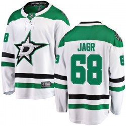 Jaromir Jagr Dallas Stars Youth Fanatics Branded White Breakaway Away Jersey
