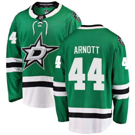 Jason Arnott Dallas Stars Men's Fanatics Branded Green Breakaway Home Jersey