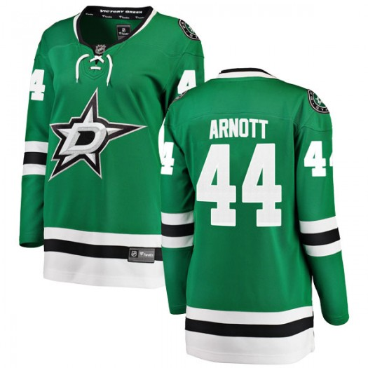 Jason Arnott Dallas Stars Women's Fanatics Branded Green Breakaway Home Jersey