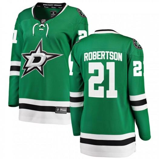 Jason Robertson Dallas Stars Women's Fanatics Branded Green Breakaway Home Jersey
