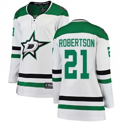 Jason Robertson Dallas Stars Women's Fanatics Branded White Breakaway Away Jersey