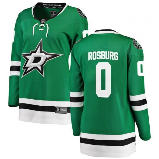Jerad Rosburg Dallas Stars Women's Fanatics Branded Green Breakaway Home Jersey