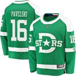 Joe Pavelski Dallas Stars Men's Fanatics Branded Green 2020 Winter Classic Breakaway Jersey