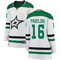 Joe Pavelski Dallas Stars Women's Fanatics Branded White Breakaway Away Jersey