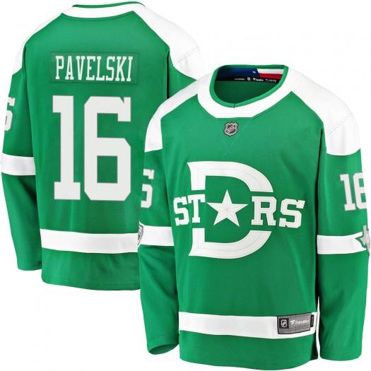 Joe Pavelski Dallas Stars Youth Fanatics Branded Green 2020 Winter Classic Breakaway Jersey