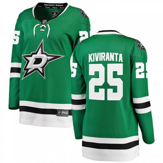 Joel Kiviranta Dallas Stars Women's Fanatics Branded Green Breakaway Home Jersey