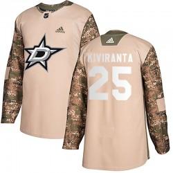 Joel Kiviranta Dallas Stars Youth Adidas Authentic Camo Veterans Day Practice Jersey