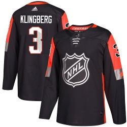 John Klingberg Dallas Stars Youth Adidas Authentic Black 2018 All-Star Central Division Jersey