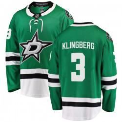 John Klingberg Dallas Stars Youth Fanatics Branded Green Breakaway Home Jersey