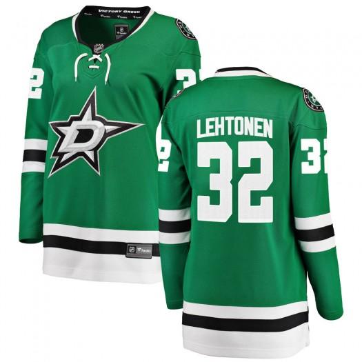 Kari Lehtonen Dallas Stars Women's Fanatics Branded Green Breakaway Home Jersey