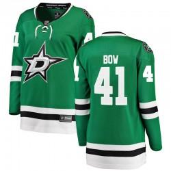 Landon Bow Dallas Stars Women's Fanatics Branded Green Breakaway Home Jersey