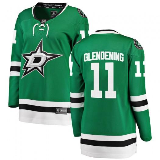 Luke Glendening Dallas Stars Women's Fanatics Branded Green Breakaway Home Jersey